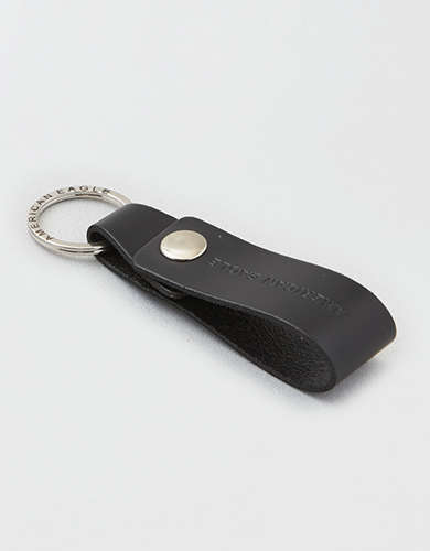 AE Leather Keychain -