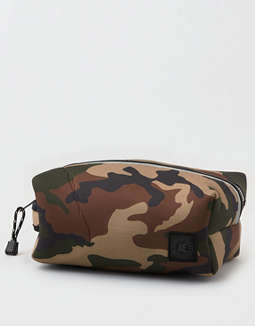 AEO Camo Neoprene Shower Bag