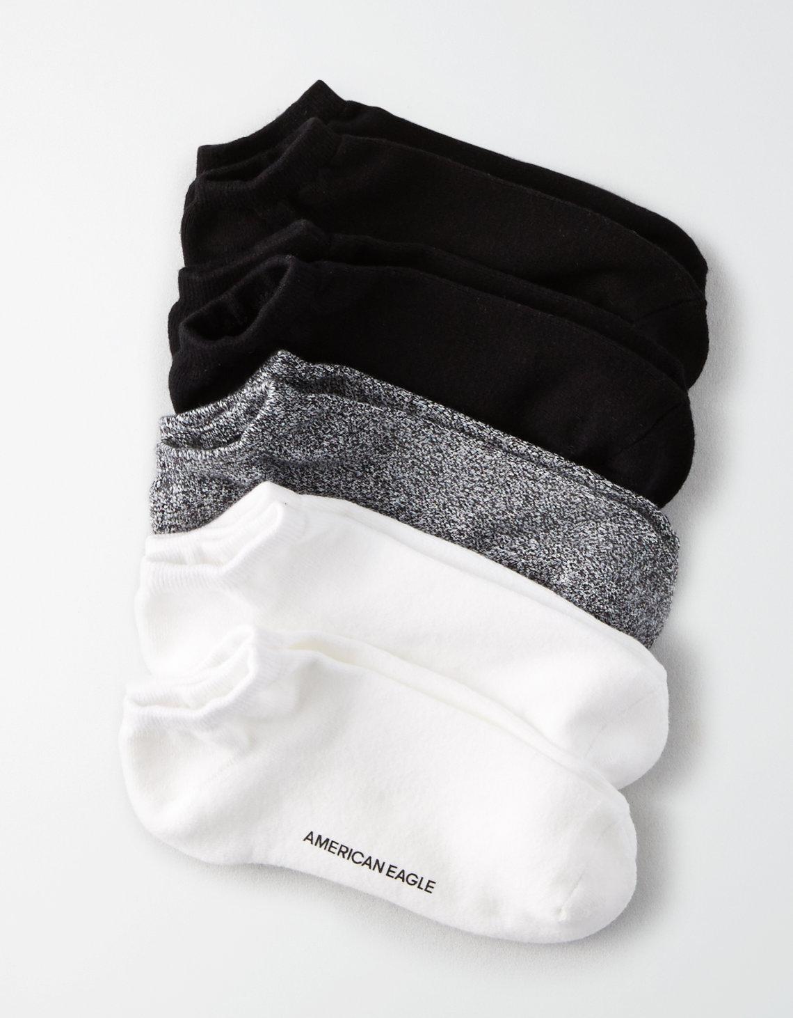 Aeo Low Cut Socks 5 Pack
