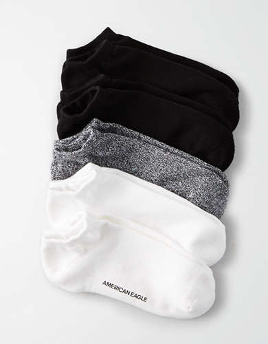 AEO Low Cut Socks 5-Pack -