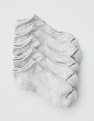 AEO Low Cut Socks 5-Pack