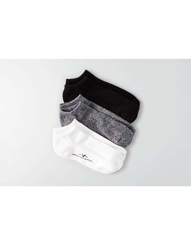 AEO Low Cut Socks 3-Pack - Buy 2, Get 1 Free