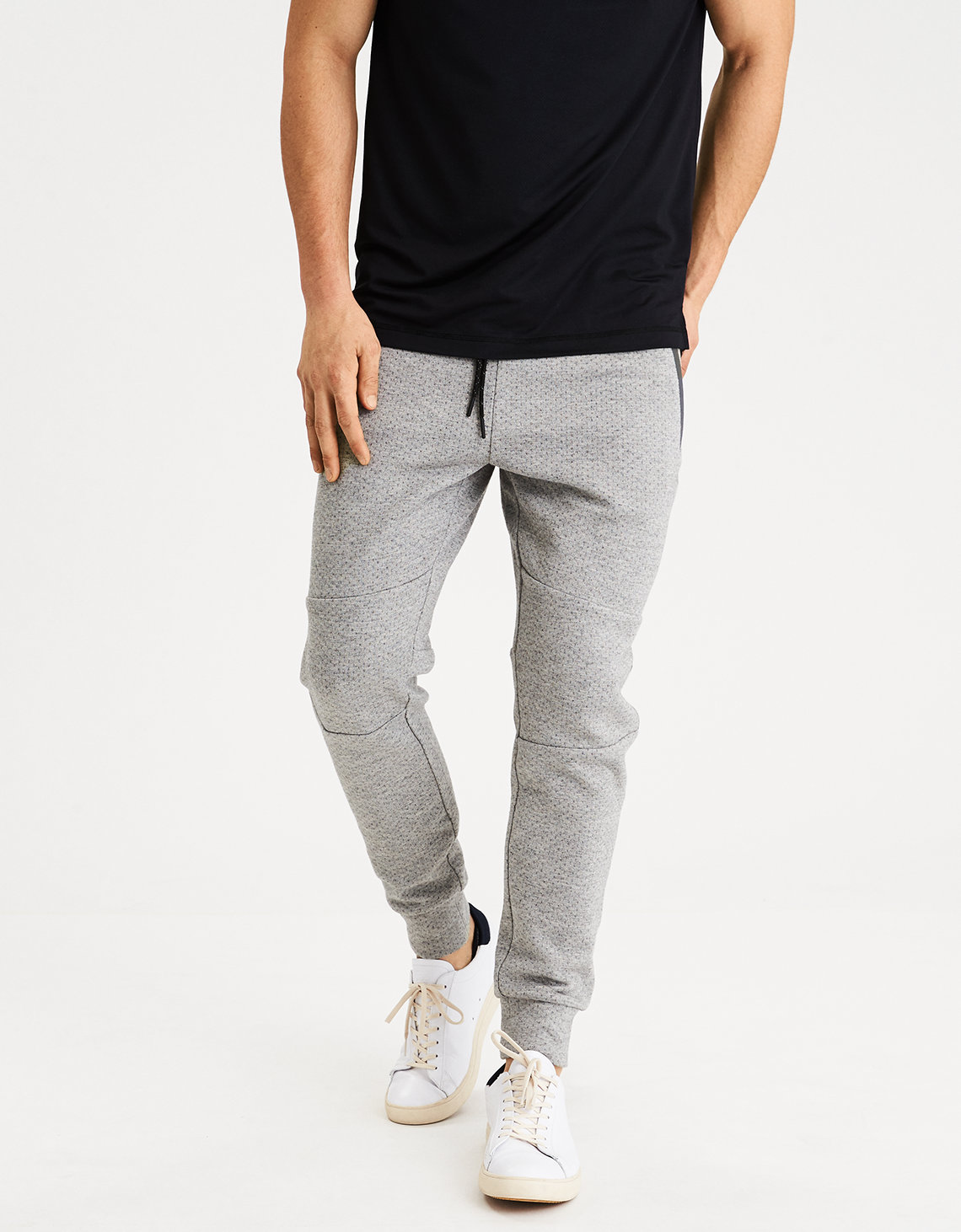 AE Mixed Fabric Jogger. Placeholder image. Product Image
