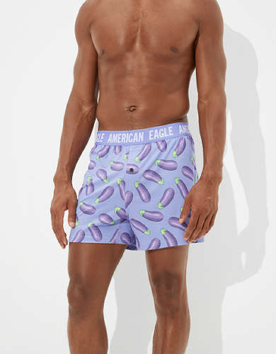 AEO Eggplants Ultra Soft Boxer Short