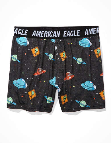 AEO Space Traffic Ultra Soft Boxer Short