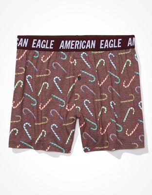AEO Candy Cane Ultra Soft Boxer Short