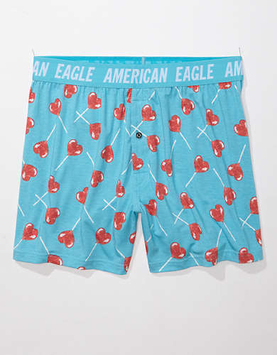 AEO Heart Pops Ultra Soft Boxer Short