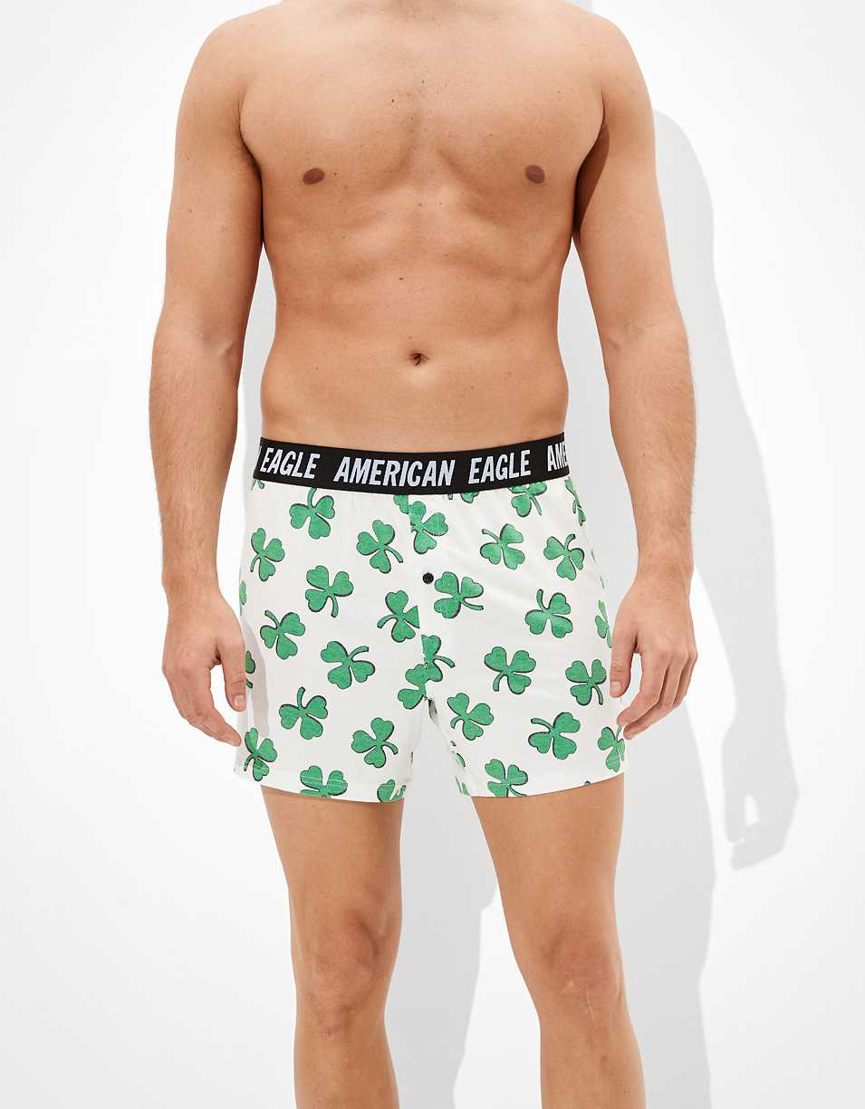 AEO Shadow Clovers Ultra Soft Boxer Short