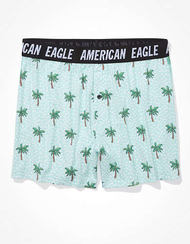 AEO Fun Palms Ultra Soft Boxer Short