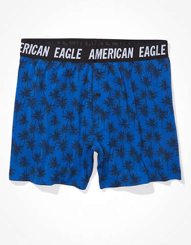 AEO Blue Palms Ultra Soft Boxer Short
