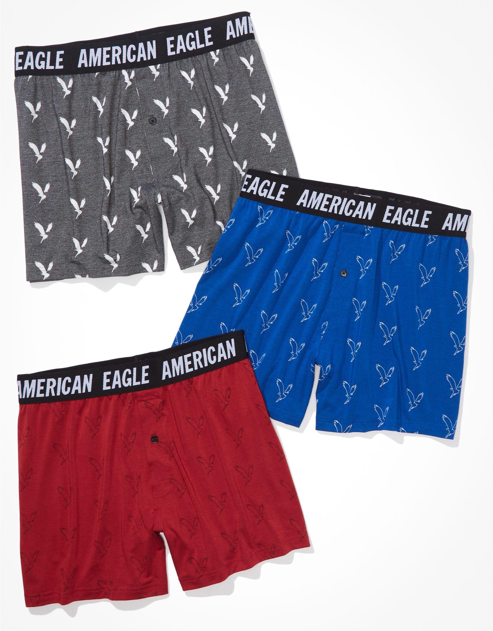 AEO Ultra Soft Boxer Short 3-Pack
