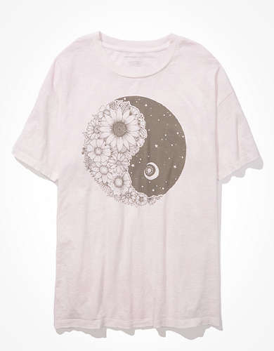 AE Oversized Yin + Yang Graphic T-Shirt