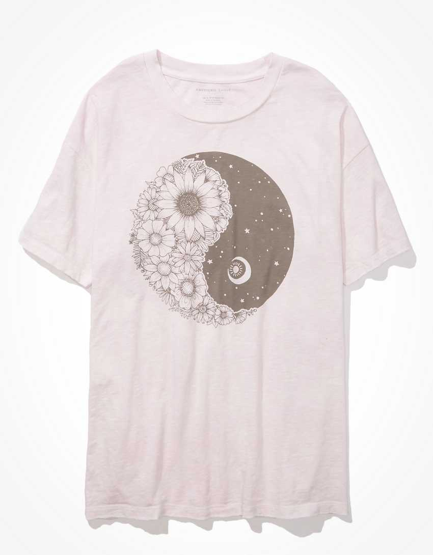 AE Oversized Yin + Yang Graphic T-Shirt