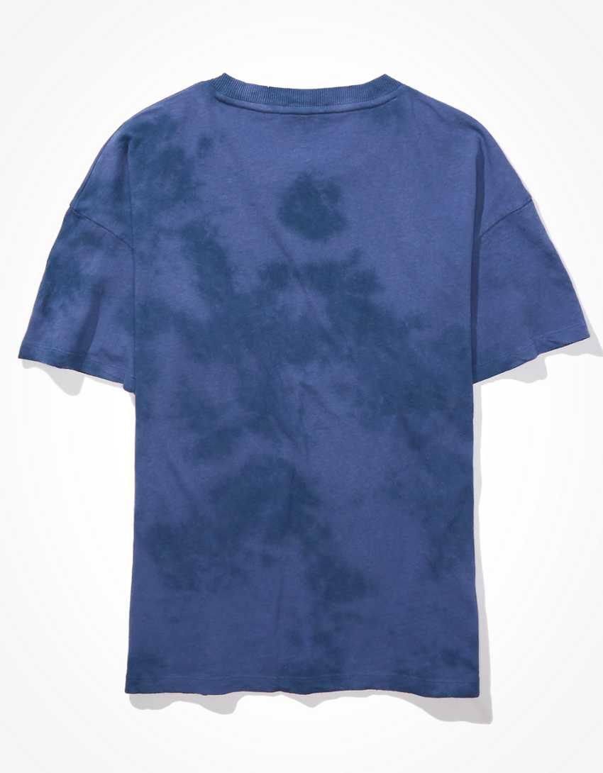 AE For Surfrider Oversized Tie-Dye Graphic T-Shirt