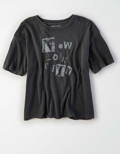 AE Washed NYC Graphic Tee -