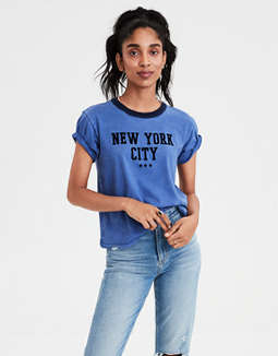 AE New York Graphic T-shirt