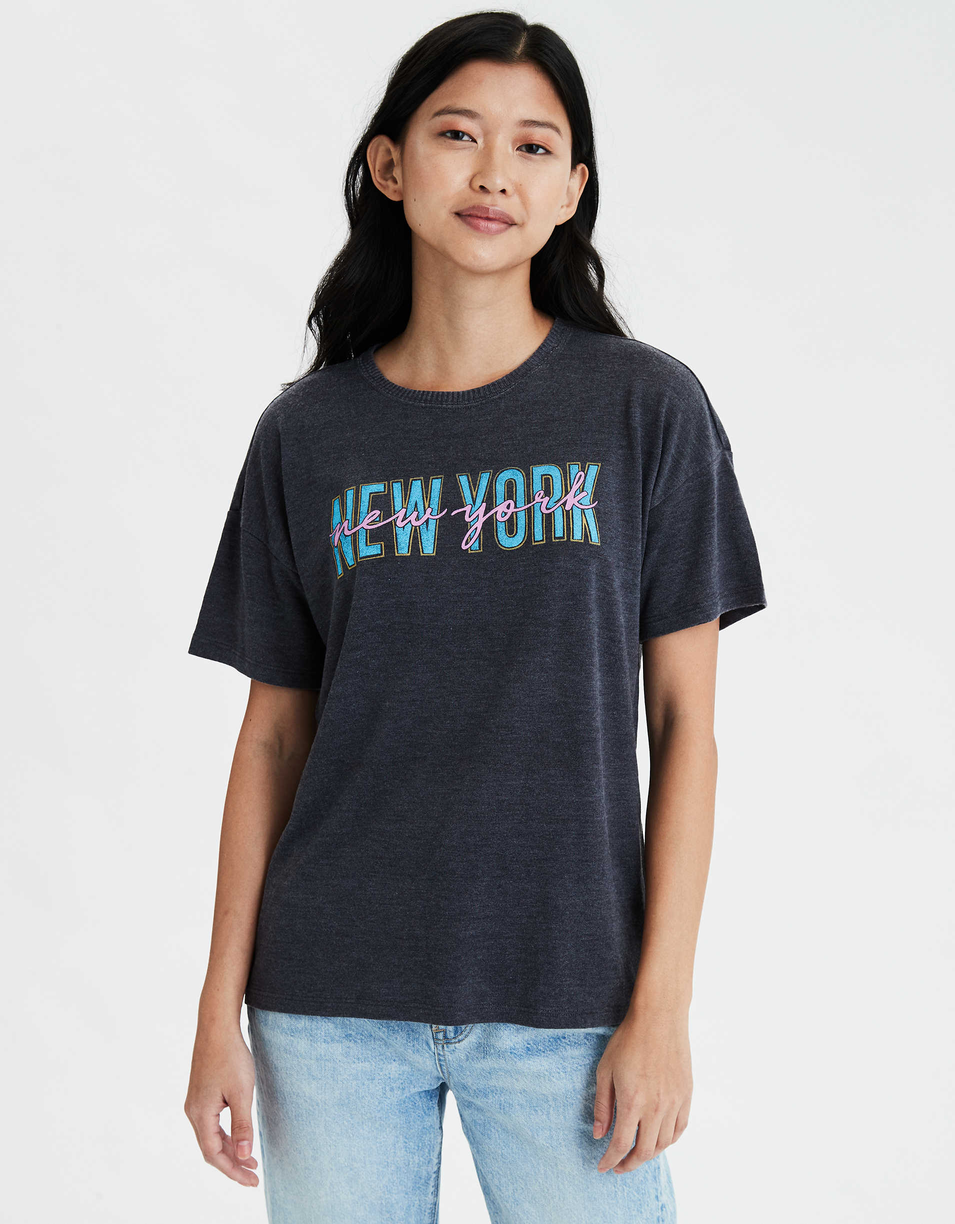 AE New York City Graphic T-Shirt