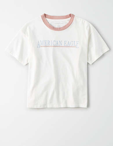 AE Graphic Ringer T-Shirt