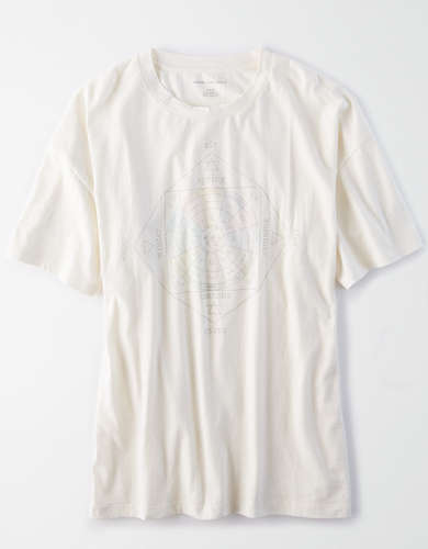 AE Oversized Celestial Graphic T-Shirt