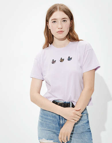 AE Embroidered Graphic T-Shirt