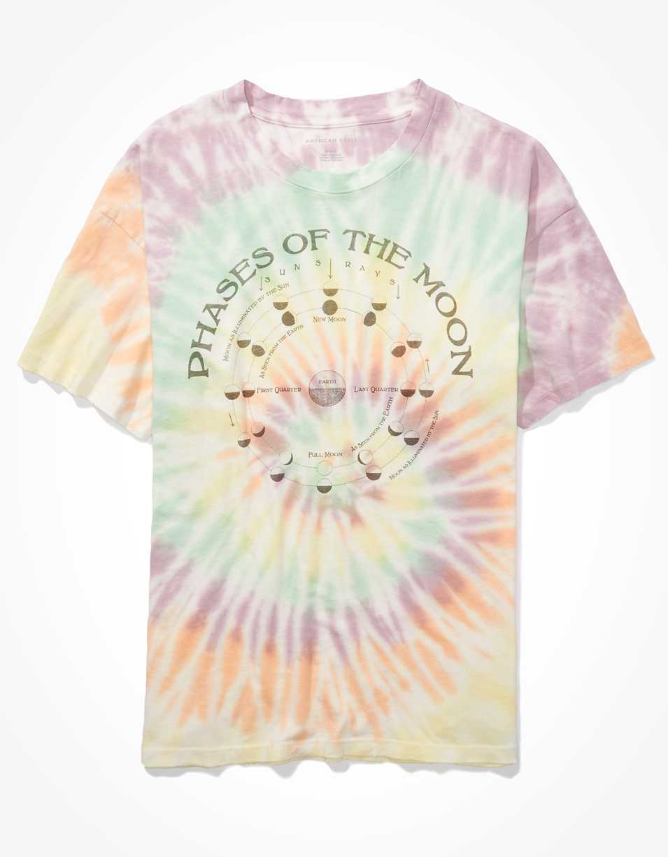 AE Oversized Tie-Dye Graphic T-Shirt