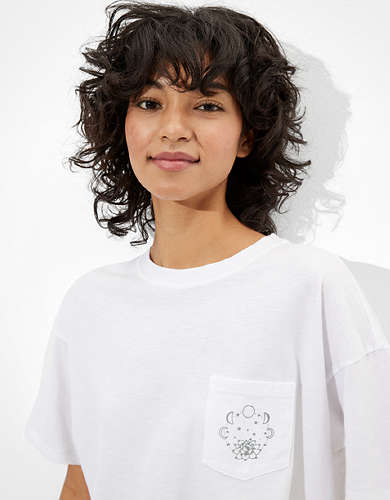 AE Cropped Graphic T-Shirt