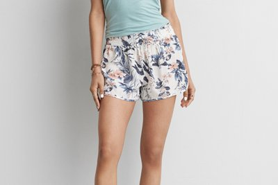 Floral Runner Short