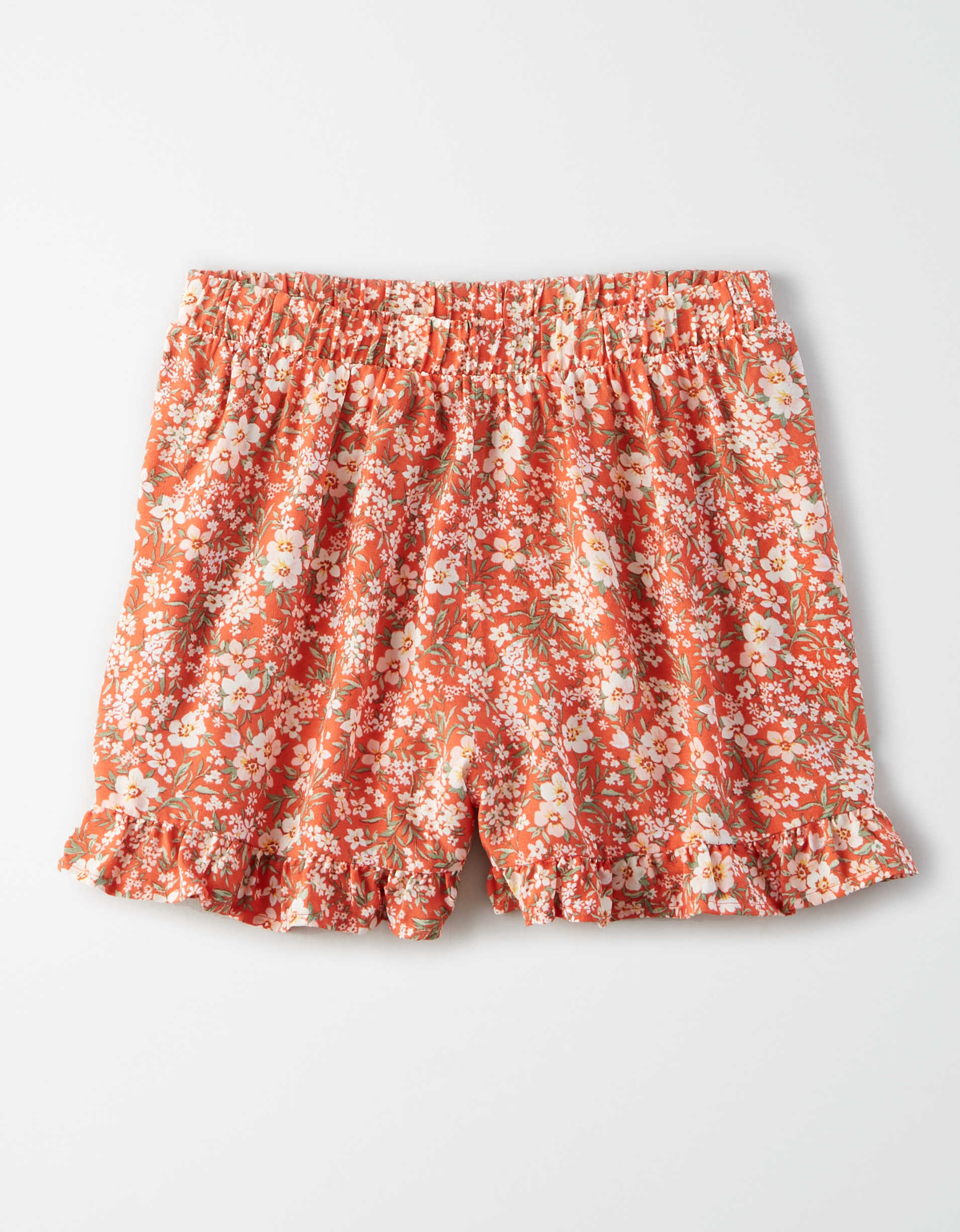 AE High-Waisted Ruffled Tulip Runner Short