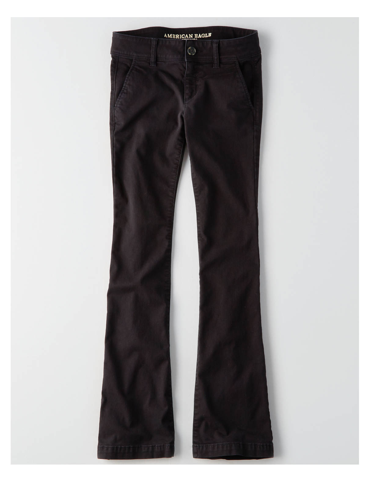 Display product reviews for AEO Twill X Kick Boot Pant