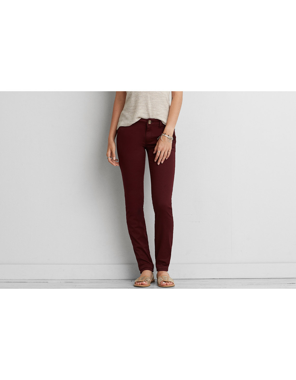AE Denim X Skinny Pant - Lycra Pants American Eagle Outfitters