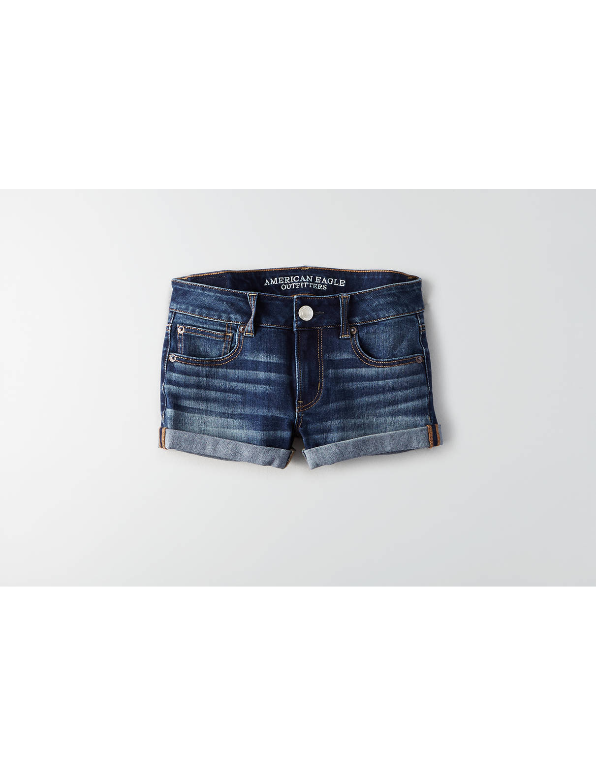 Display product reviews for AE Denim X4 Shortie