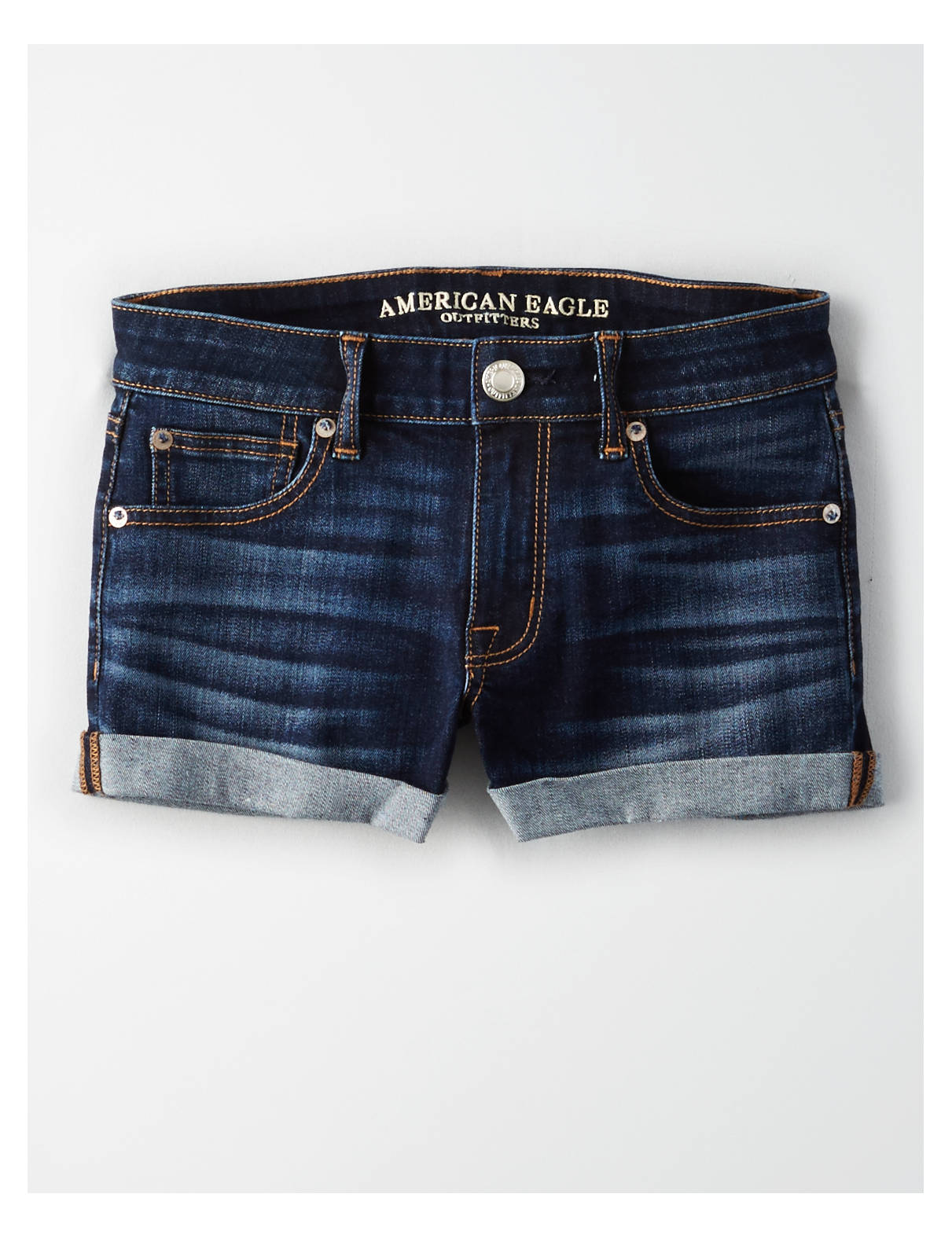 Display product reviews for AE Denim Shortie