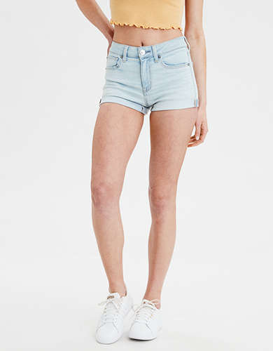 AE Ne(x)t Level High-Waisted Denim Short Short