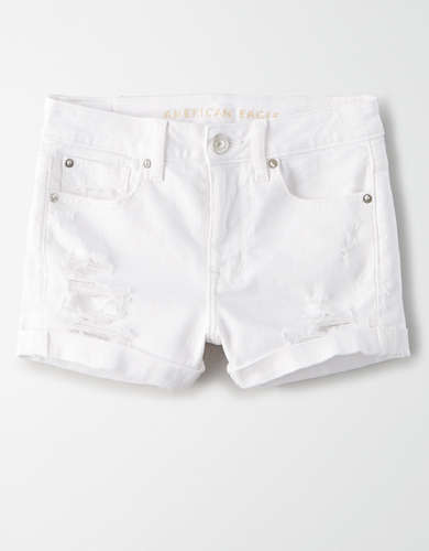 AE High-Waisted Denim Short Short