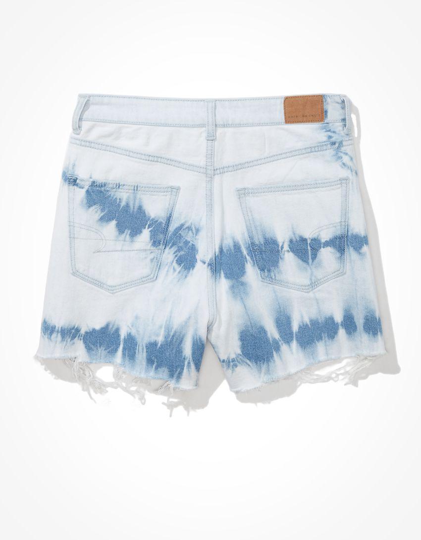 AE Highest Waist Denim Mom Shorts