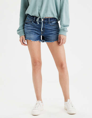 Denim Tomgirl Midi Short