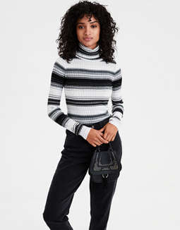 Ae Bodycon Turtleneck Pullover by American Eagle Outfitters