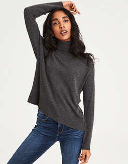 Ae Turtleneck Pullover Sweater by American Eagle Outfitters