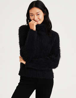 Ae Eyelash Turtleneck Sweater by American Eagle Outfitters