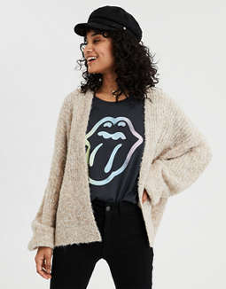 AE Balloon Sleeve Cardigan