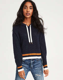 Ae Tipped Hoodie by American Eagle Outfitters