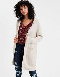 Ae Hooded Cardigan by American Eagle Outfitters