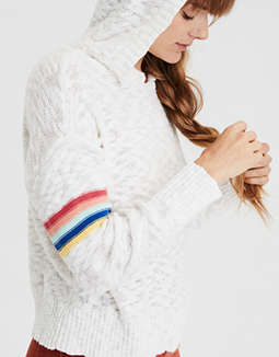 AE Rainbow Pullover Sweater