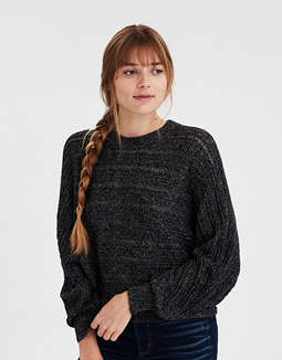 AE Textured Pullover Sweater