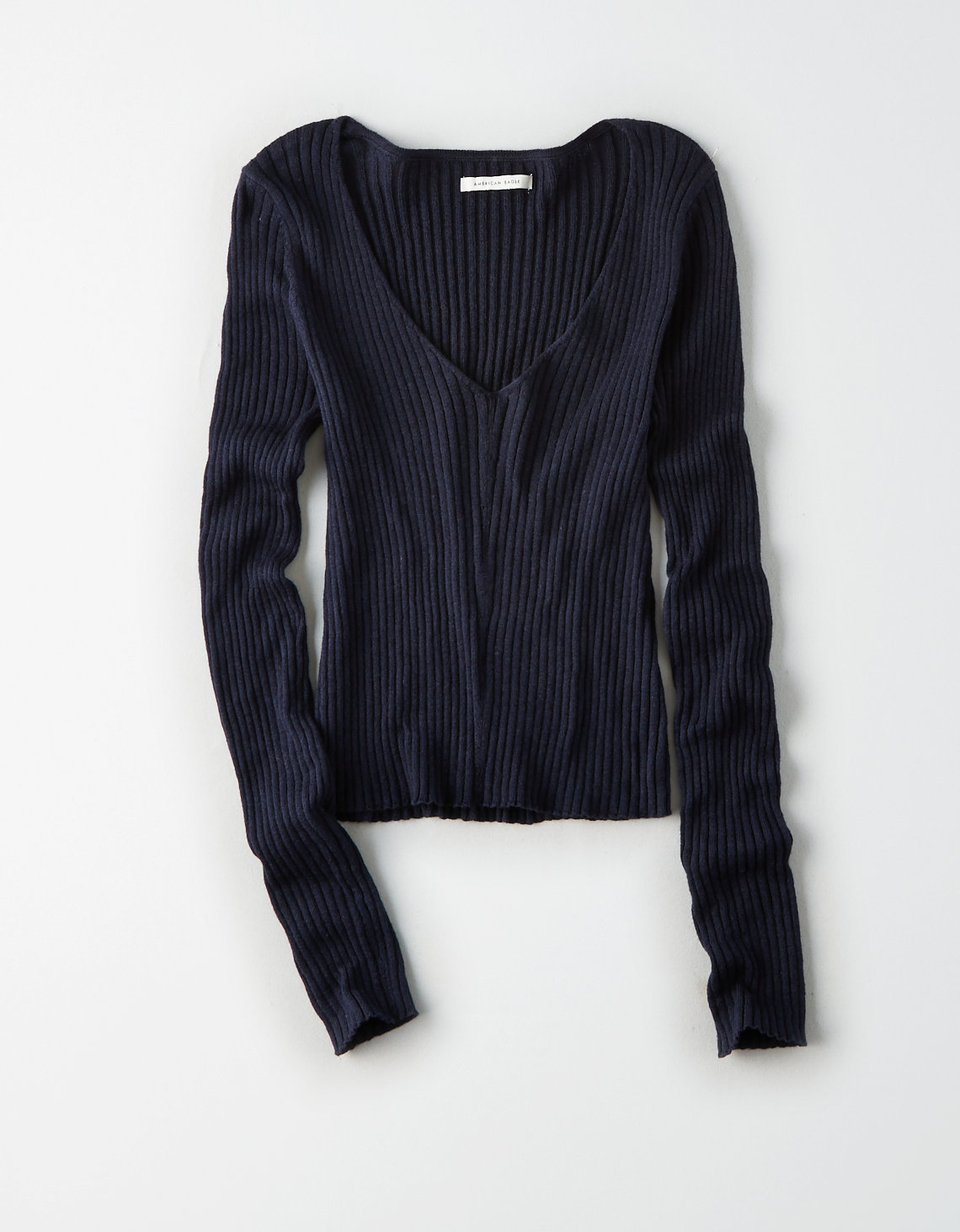 535a75bd07008a AE Cropped V-Neck Pullover. Placeholder image. Product Image