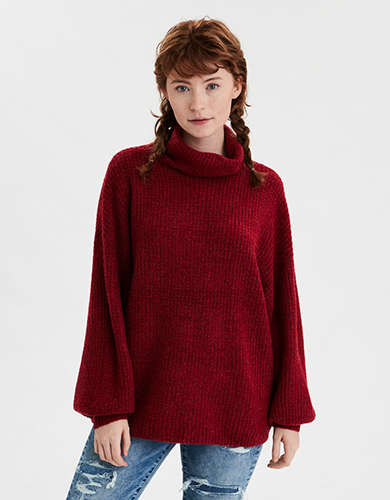 AE Turtleneck Oversized Sweater