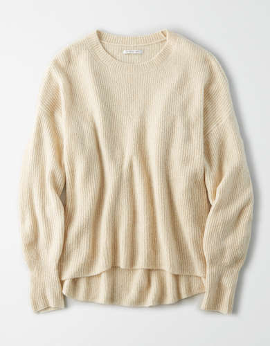AE Crew Neck Oversized Sweater