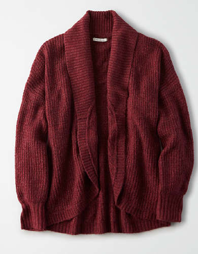 AE Oversized Shawl Cardigan