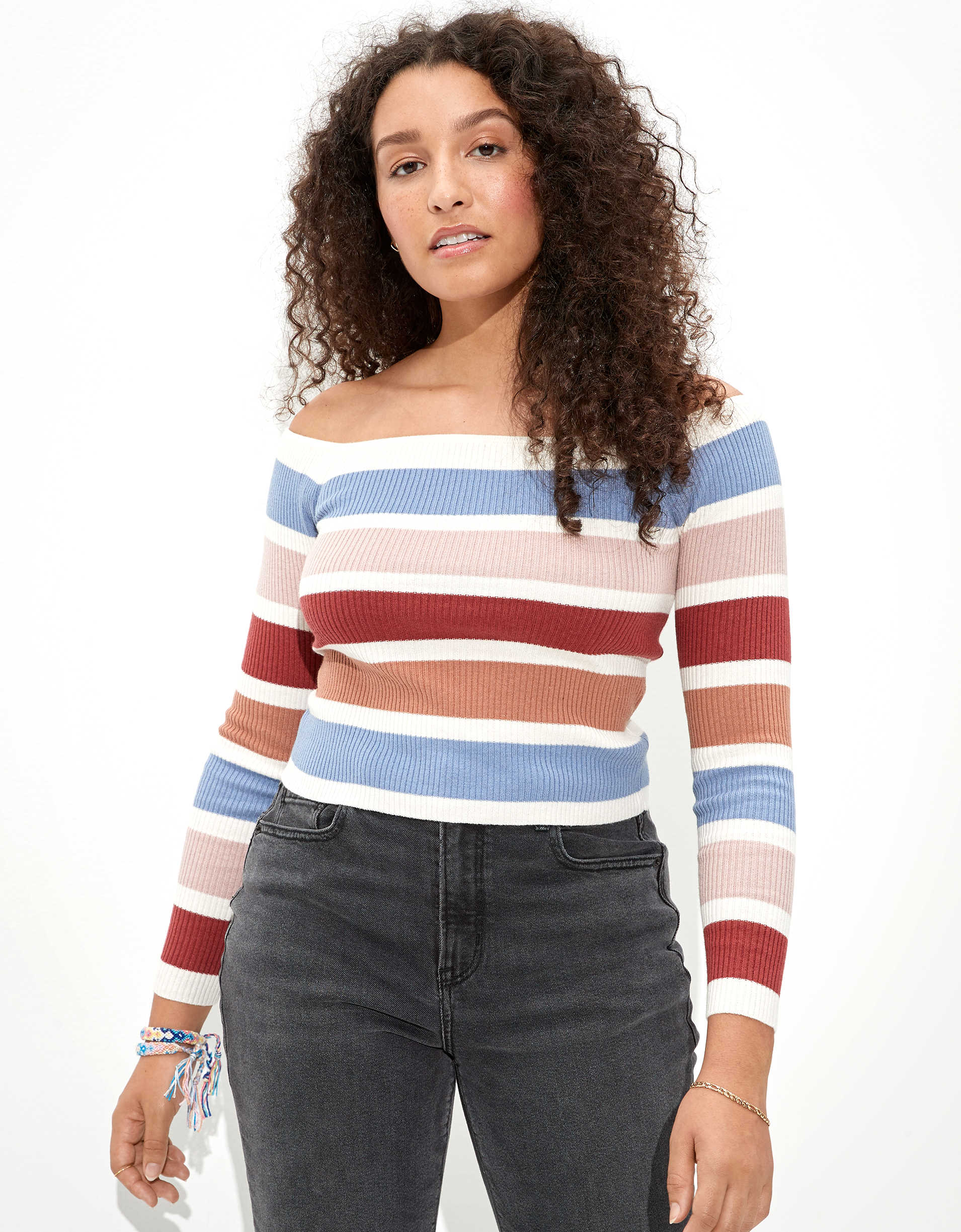 AE Off-The-Shoulder Sweater