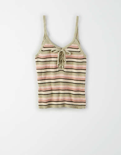 AE Lace Up Tank Top